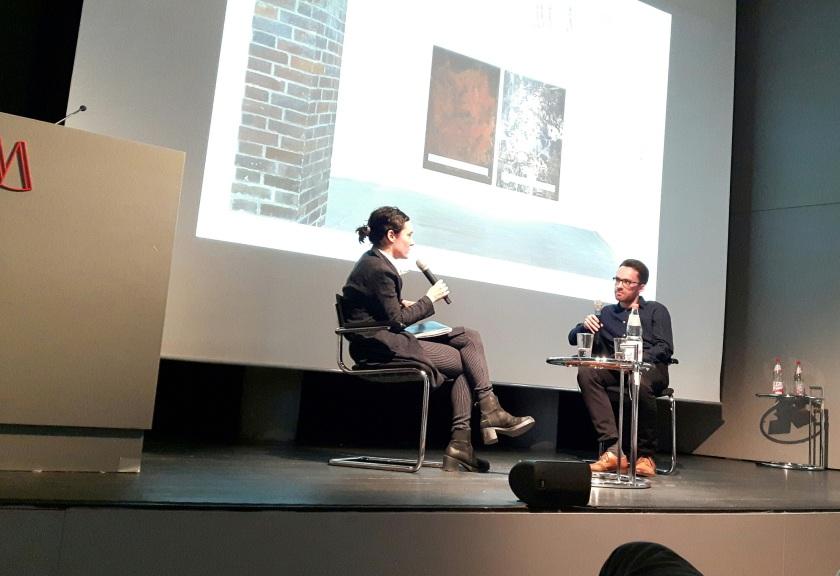 Eugen El im Gespräch mit Leda Bourgogne